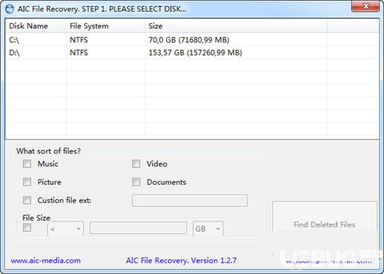 AIC File Recovery